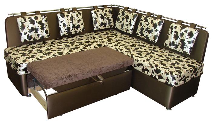 Эксклюзивный диван-лавочка для кухни