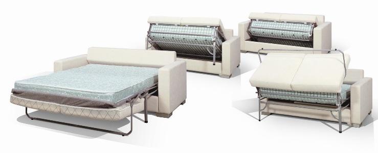 Диван со спальным местом с механизмом седафлекс