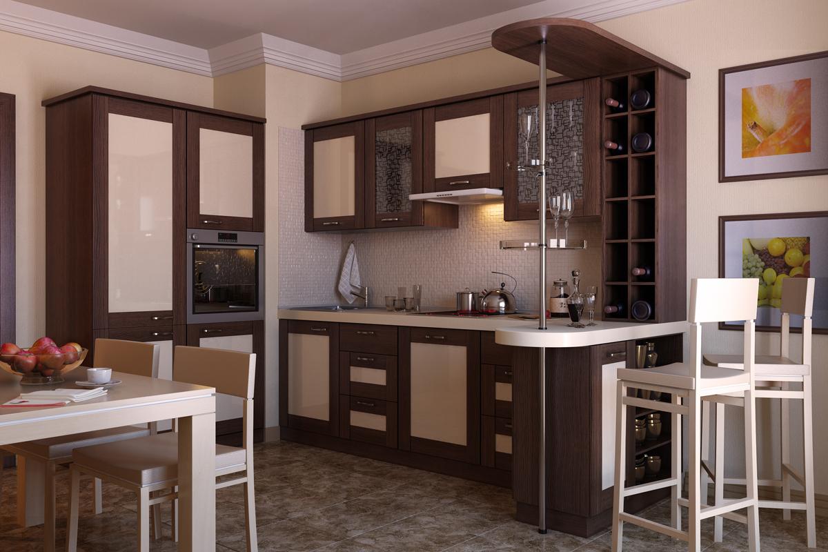 Барная стойка, как составной элемент кухонного гарнитура