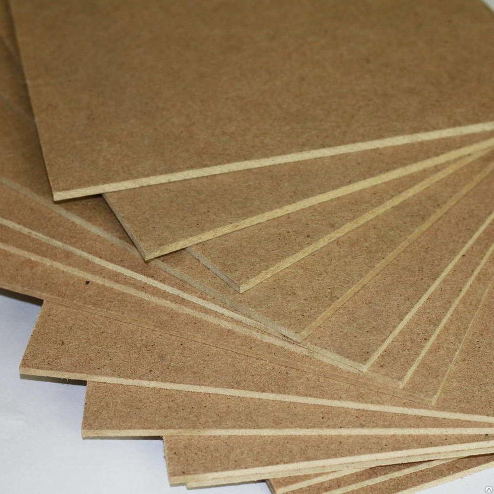 Цельнопрессованные плиты МДФ средней плотности