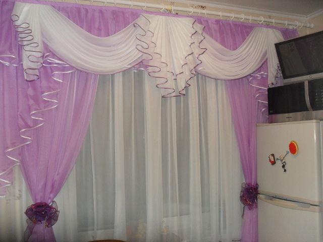 Готовые шторы с ламбрекенами
