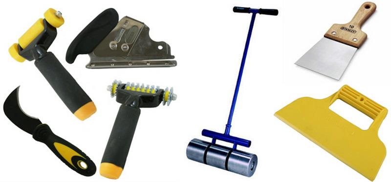 Инструменты для работы с линолеумом