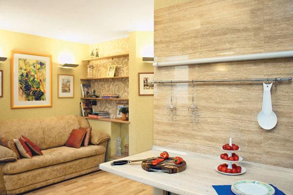 Кухня, совмещённая с комнатой