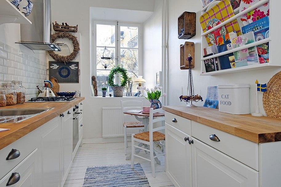 Скандинавская кухня в сдержанных цветах и лаконичных формах