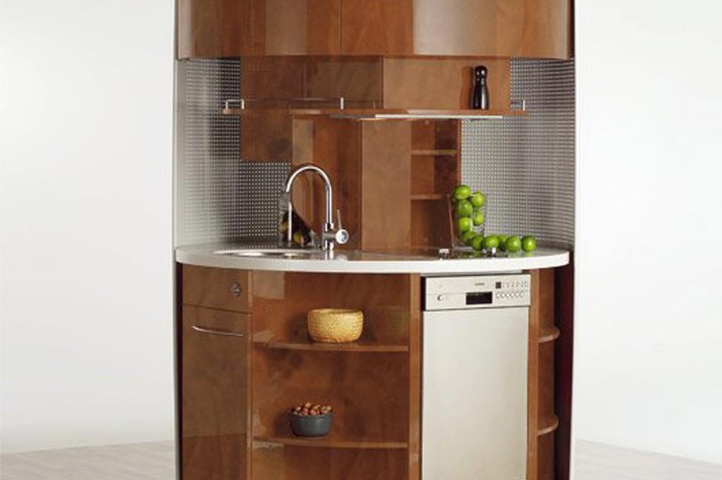 Круглый кухонный гарнитур
