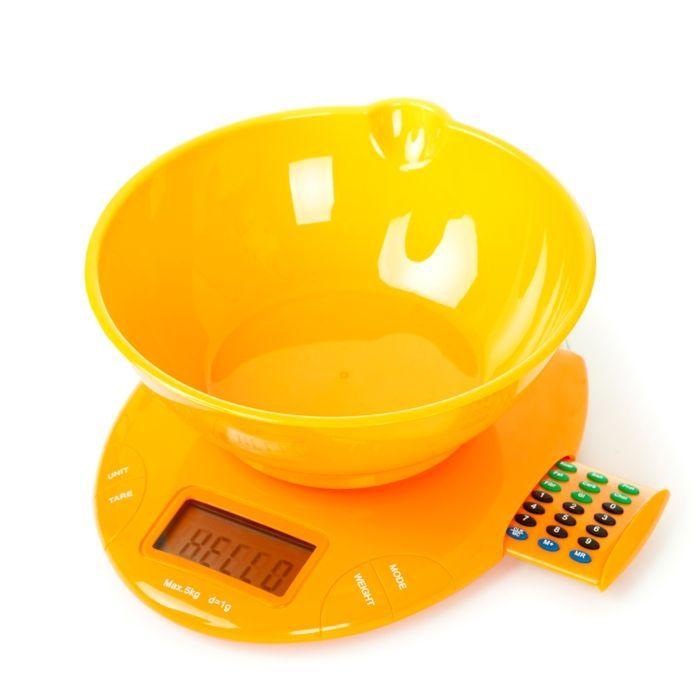 Электронные весы с чашей