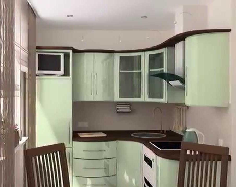 Кухня в светлой цветовой палитре