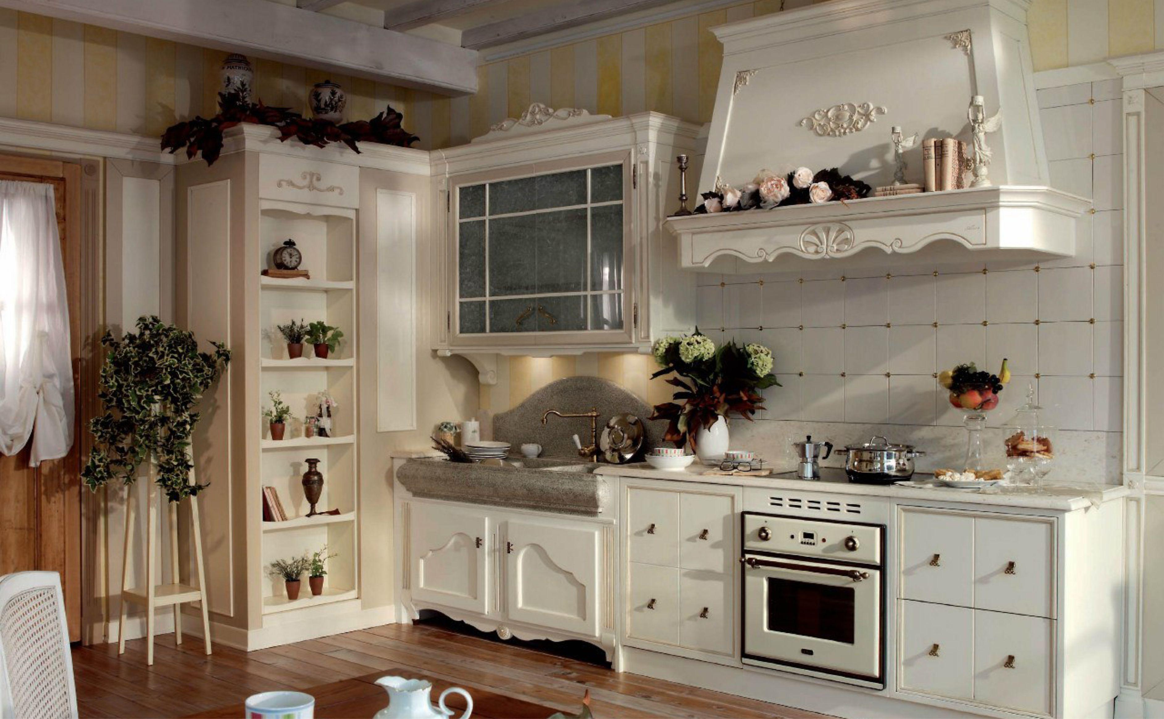 Кухня в стиле французского прованса
