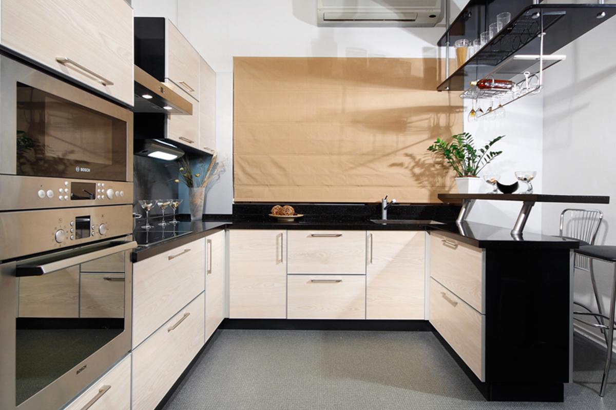 П - образная планировка кухни