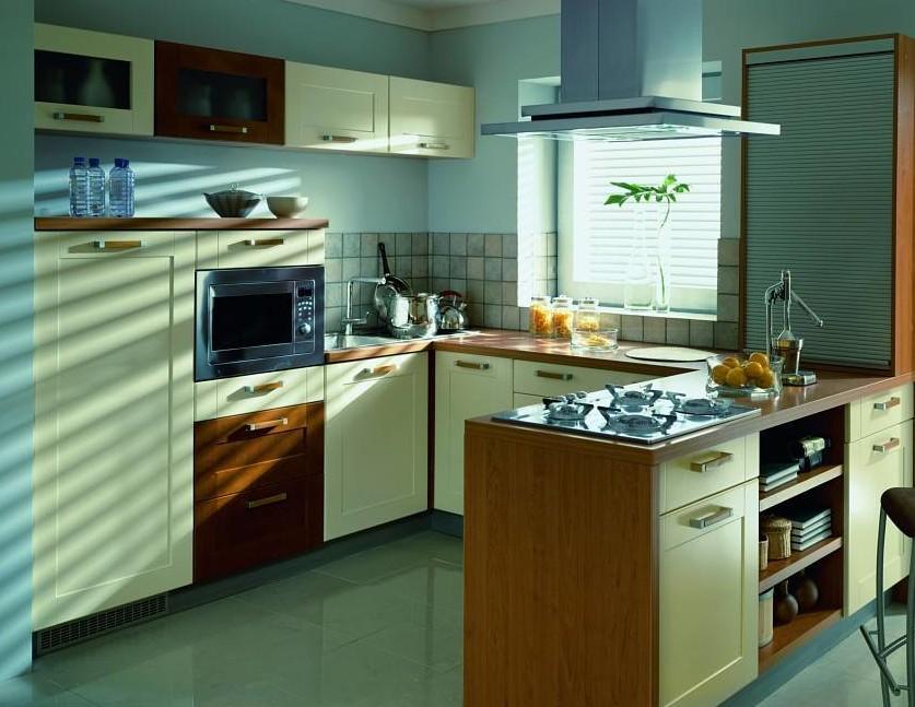 кухонные гарнитуры буквой п фото