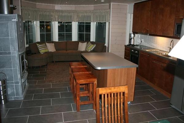 Студия-кухня с зоной отдыха