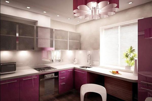 Освещение кухни светодиодами