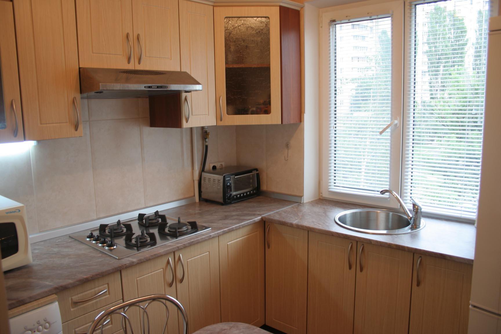 Дизайн в кухне квартир хрущевка