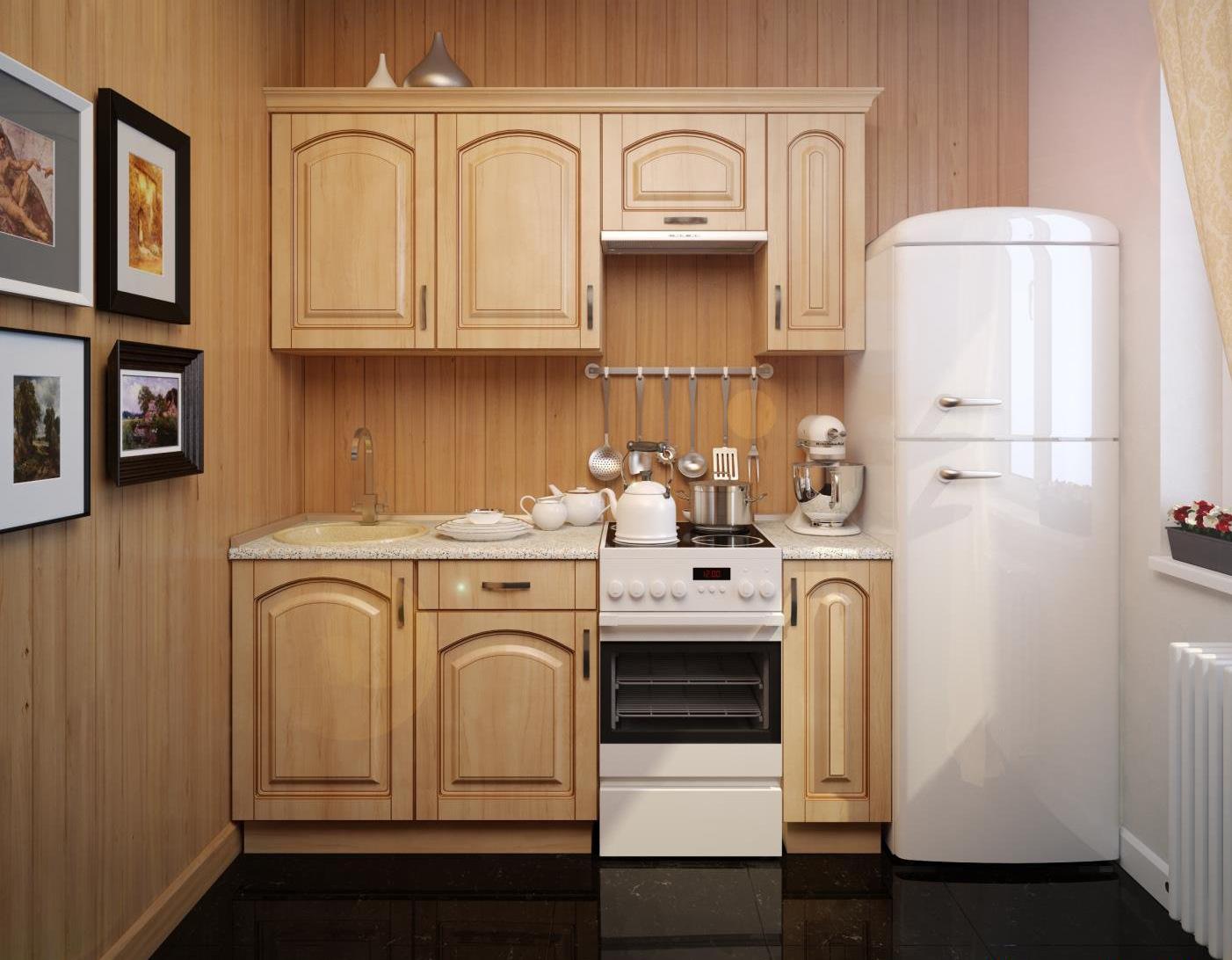 Дизайн кухни маленького размера фото