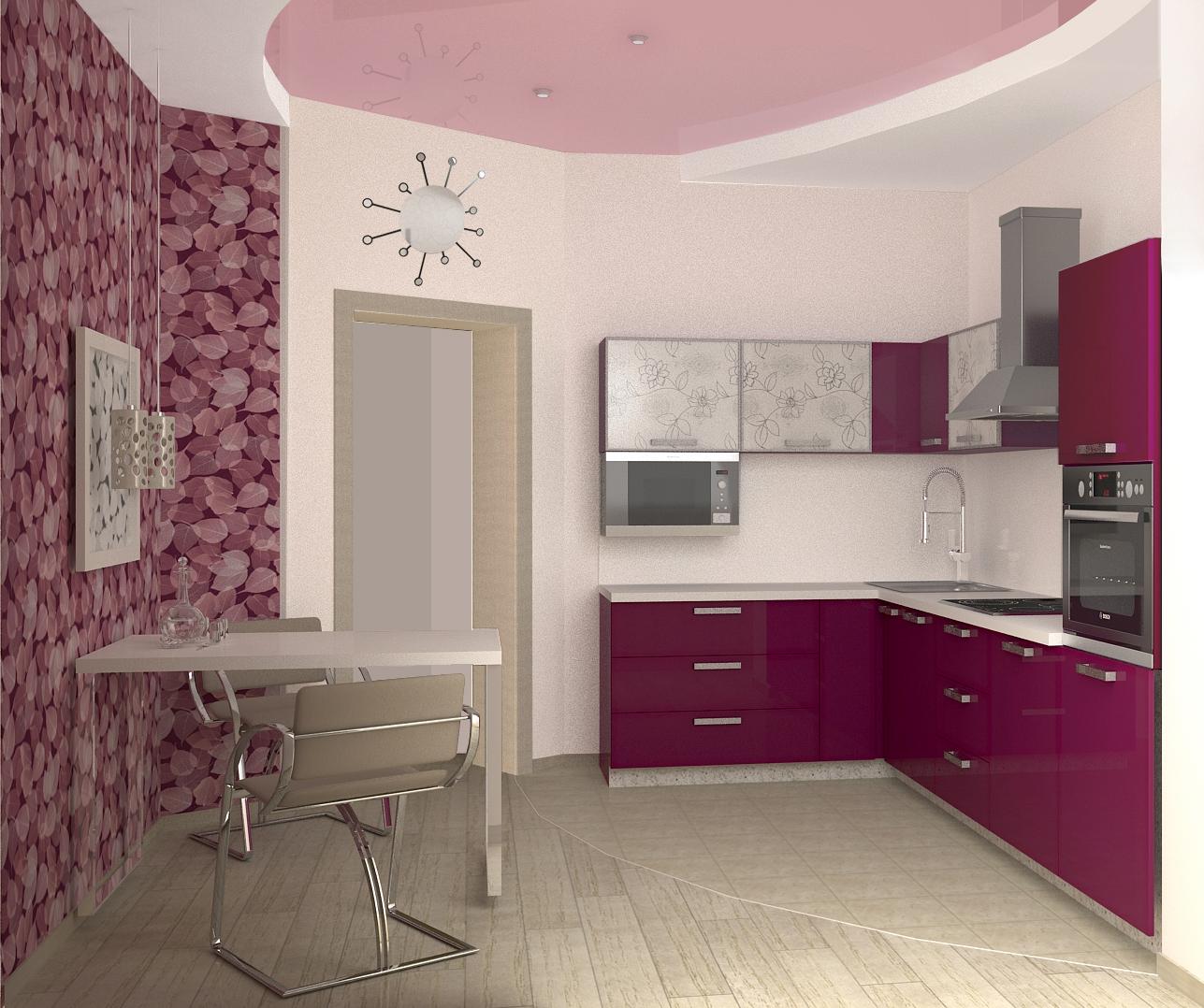 Дизайн кухни 10 кв фото