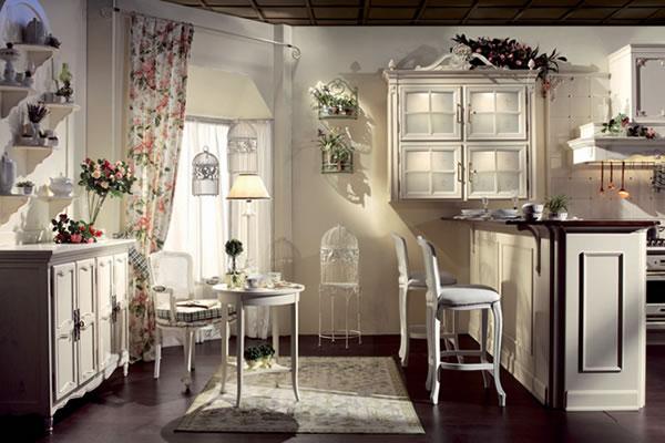 """Кухня-гостиная в стиле """"Прованс"""""""