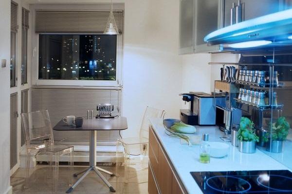 Эргономичный дизайн малогабаритной кухни
