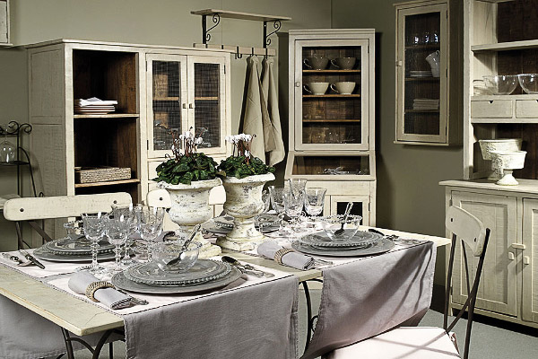 """Мебель из массива для кухни в стиле """"Прованс"""""""