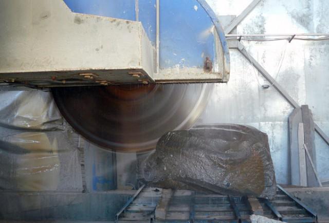 Производство плитки методом резки