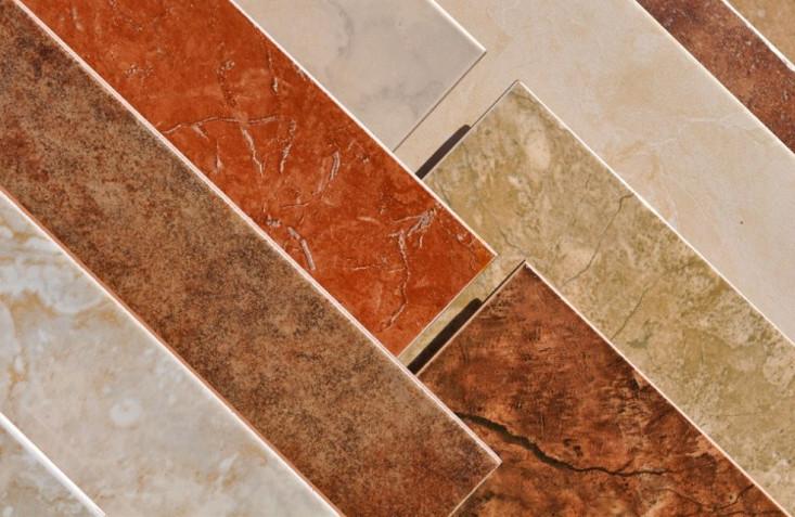 Кафельная плитка различной текстуры