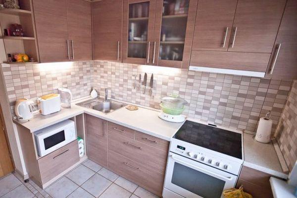 Модули на маленькой кухне