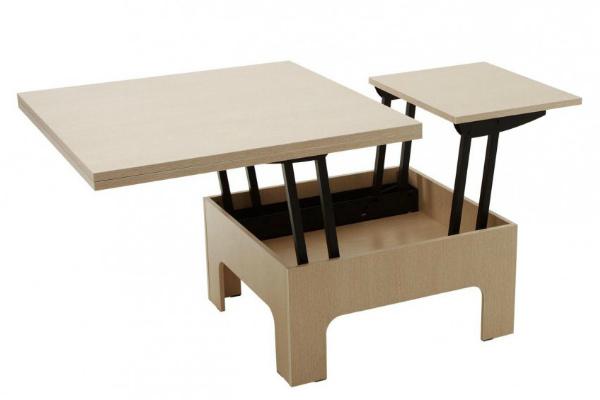 Раздвижной кухонный стол-трансформер