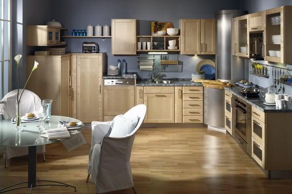 Кухня с угловым шкафом