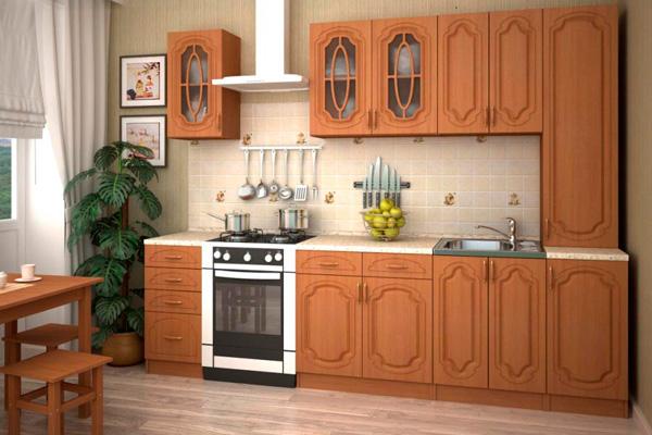 Кухня Анастасия из дерева