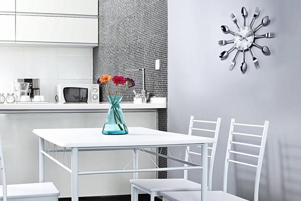Креативные часы в виде кухонных приборов