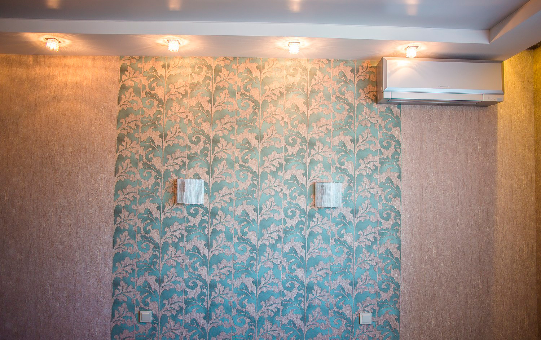 Комбинирование обоев для стен фото