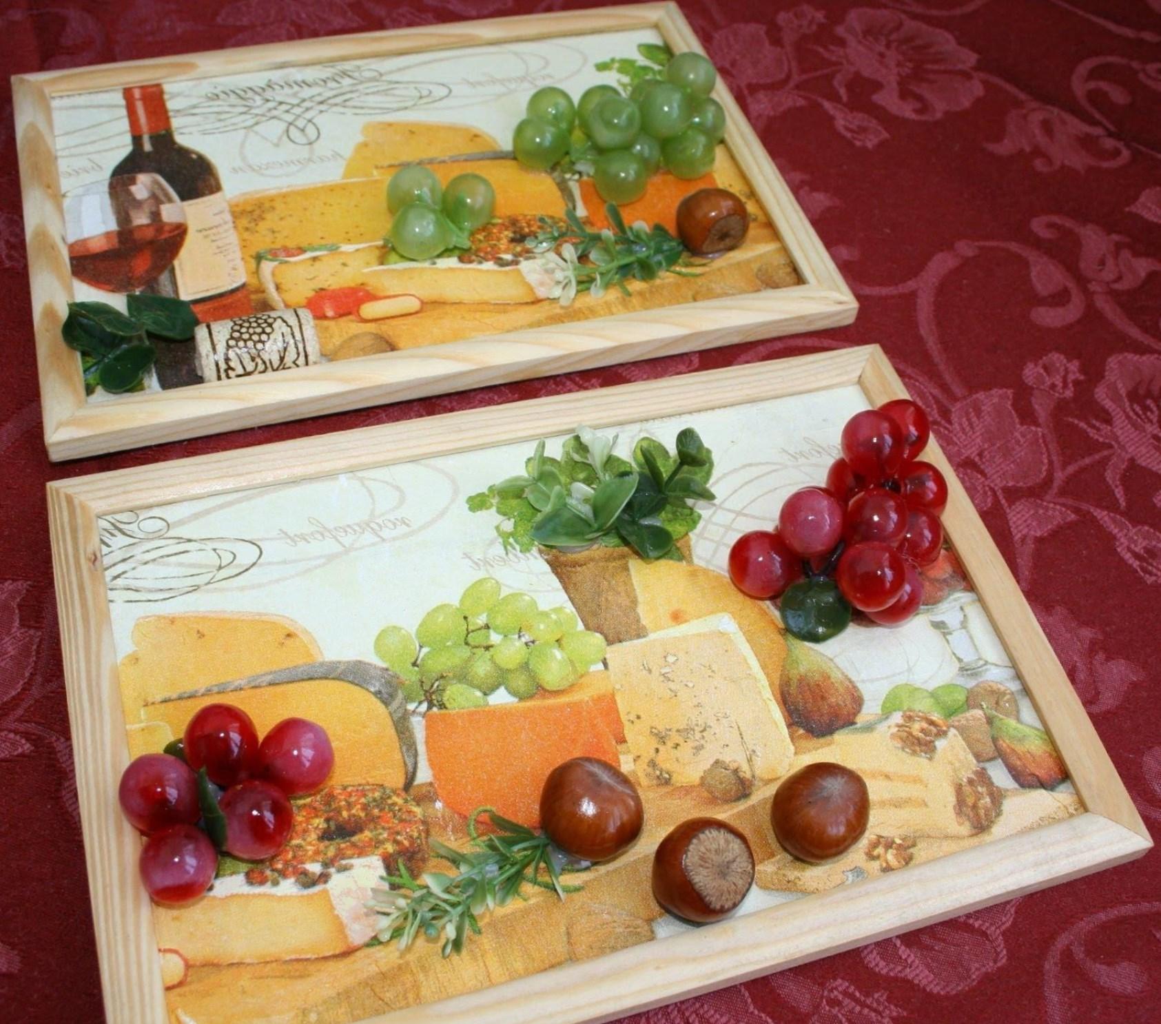 Оригинальное панно для кухни