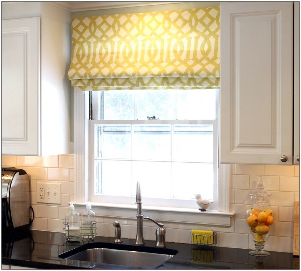 Римские шторы на кухню дизайн