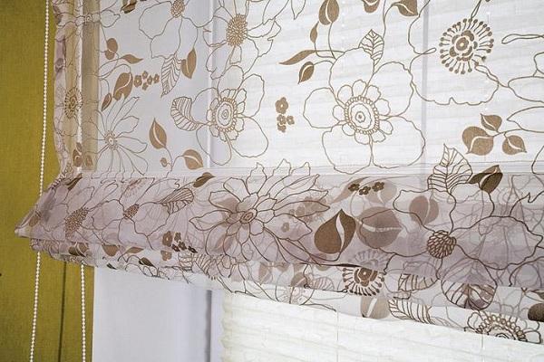 Классическая римская штора
