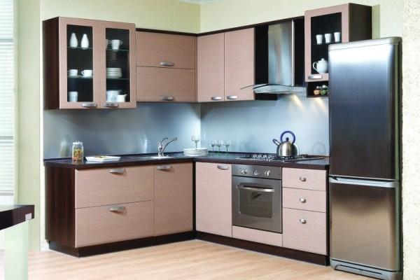 """Удобно скомпонованный """"треугольник""""-рабочая зона кухни"""