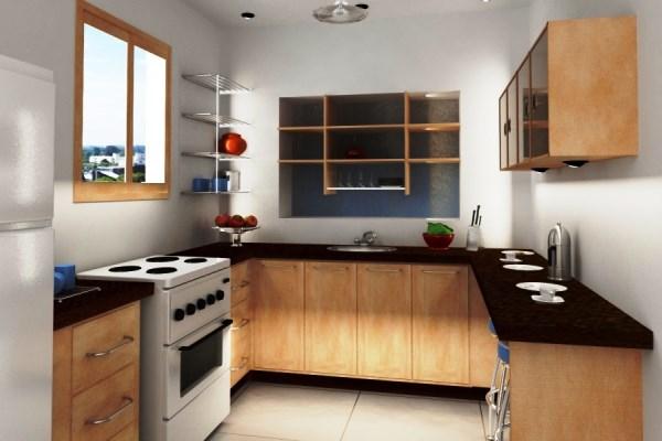 Проект обстановки малогабаритной кухни 6 кв.м