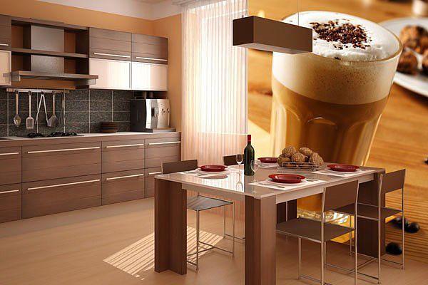 Фотообои с декором кухонной тематики