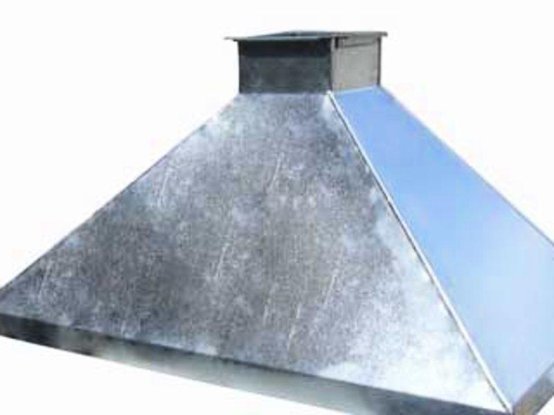 Кухонный зонт из нержавеющей стали