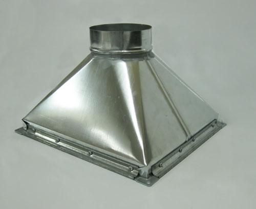 Купольный вытяжной зонт