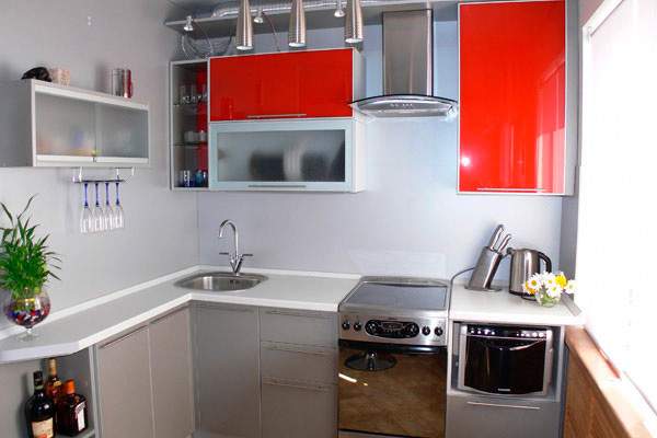 Интерьер кухни без холодильника