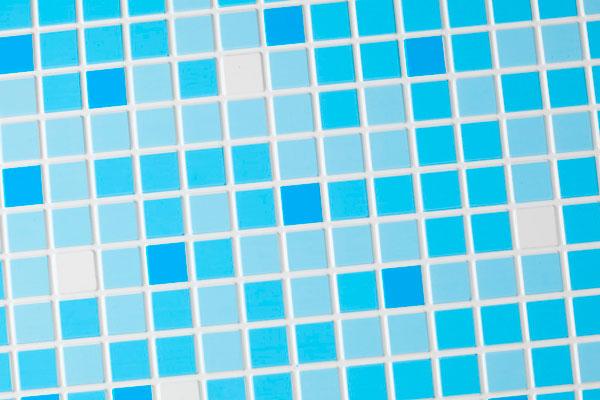 Голубая мозаичная плитка