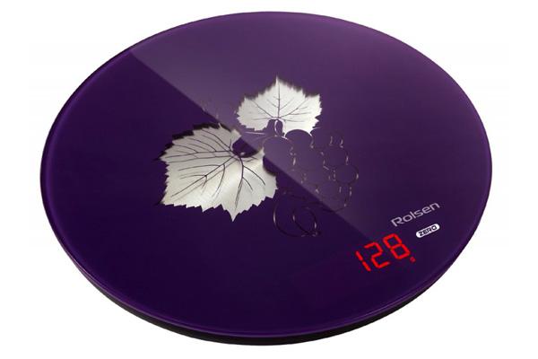 Фиолетовые электронные весы
