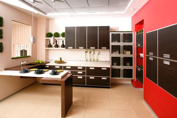 Просторная кухня премиум класса
