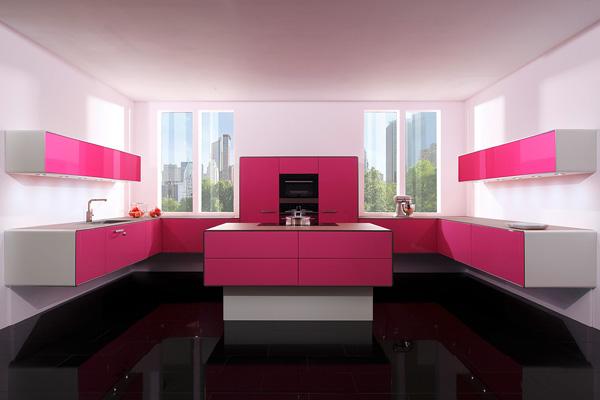 Строгость прямых линий кухонного гарнитура премиум класса