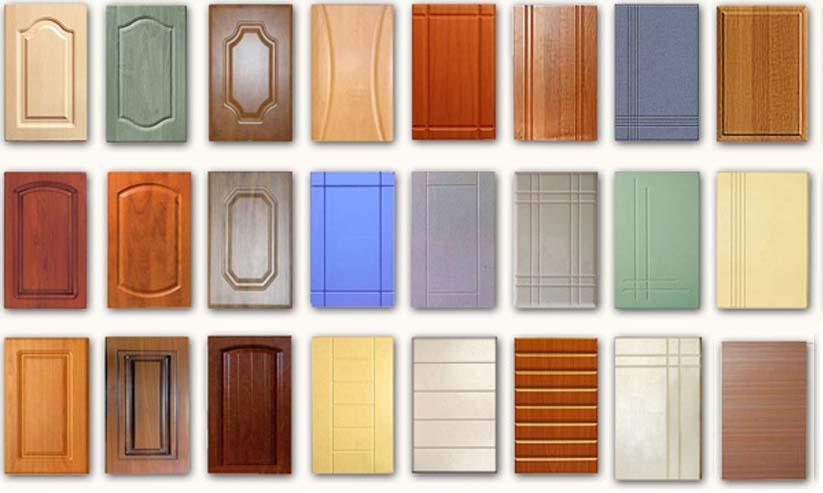 Разновидность фасадов из МДФ