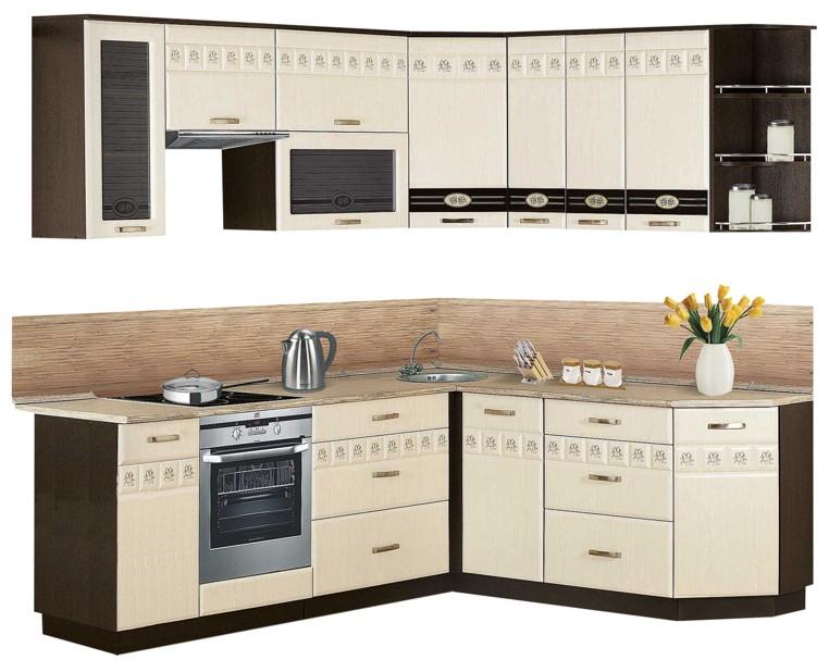 Кухня со шкафами для встраиваемой техники