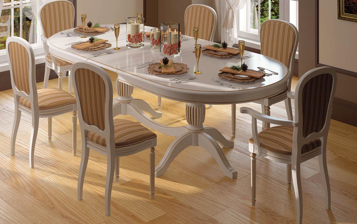 Столовый комплект в классическом стиле