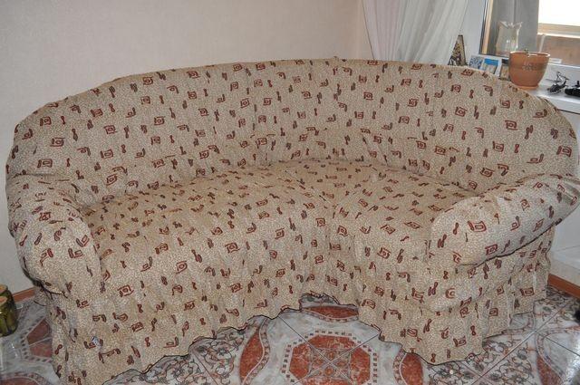 Сшить покрывало на угловой диван своими руками